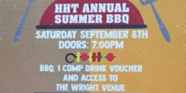 ANNUAL HHT IRELAND SUMMER FUNDRAISING BBQ 2018