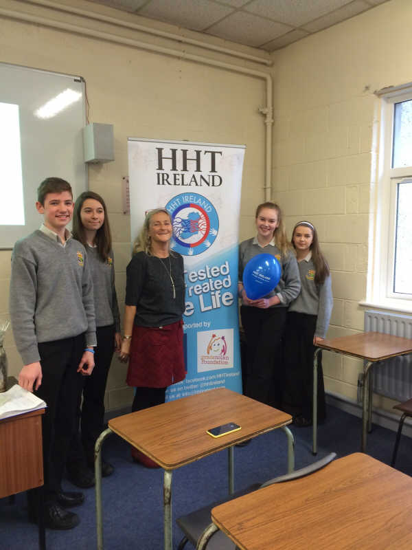 HHT Ireland St Columbas School