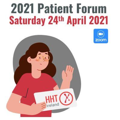HHT Ireland Annual Patient Forum 2021